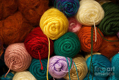 Photograph - The Yarn Shoppe by Vinnie Oakes