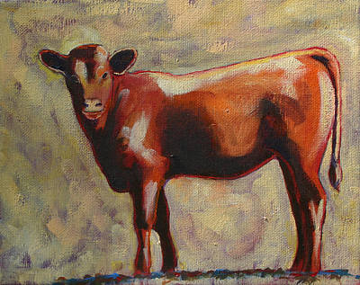 The Yearling Calf Art Print