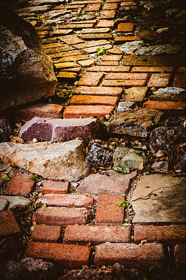 Art Print featuring the photograph The Yellow Brick Road by Beverly Parks
