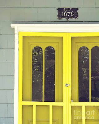 The Yellow Door Art Print