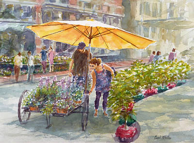 The Yellow Umbrella  Original