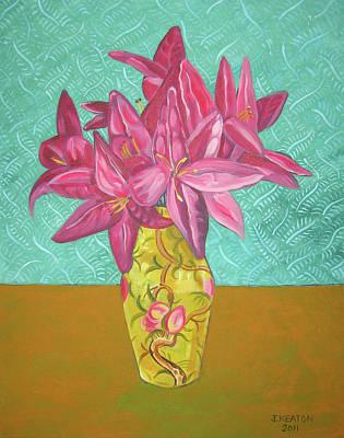 The Yellow Vase Art Print by John Keaton