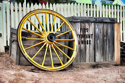 Photograph - The Yellow Wheel by Yew Kwang
