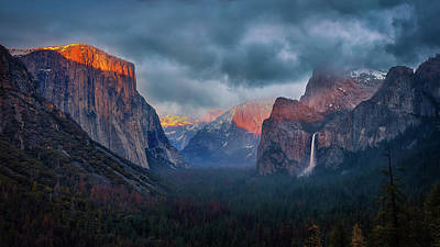 National Park Photograph - The Yin And Yang Of Yosemite by Michael Zheng
