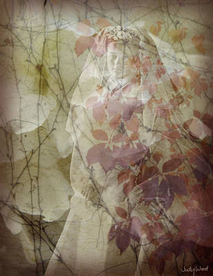 Edwardian Woman Digital Art - The Young Bride by Judy Wood