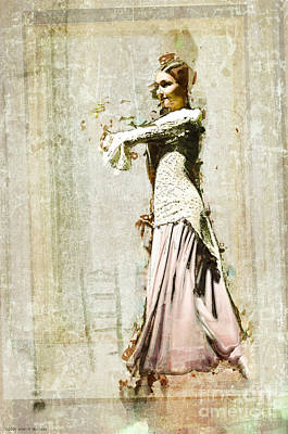 Photograph - The Young Dancer - Seville by Mary Machare