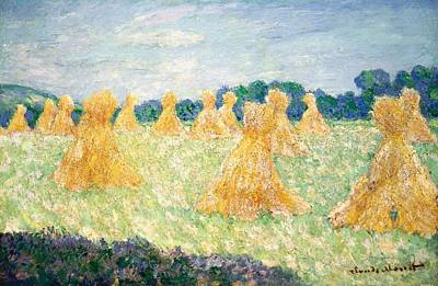 Jerusalem Painting - The Young Ladies Of Giverny by Claude Monet