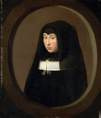 The Young Widow, Rolland Lefebvre, 1608-1677 Art Print