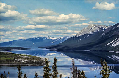 The Yukon Art Print