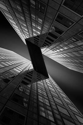 Perspective Photograph - The Z-line by Jef Van Den