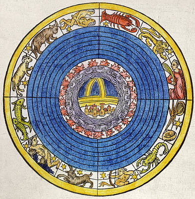 Photograph - The Zodiac, 1496 by Granger