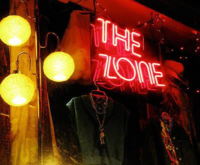 Window Photograph - The Zone by Randi Kuhne