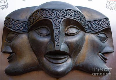 Photograph - Theater Mask by Tikvah's Hope
