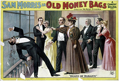 Painting - Theater Old Money Bags by Granger