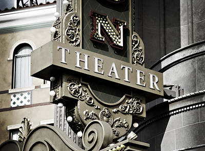 Photograph - Theater by Ricky Barnard