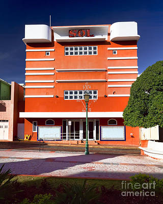 San German Photograph - Theater Sol by George Oze