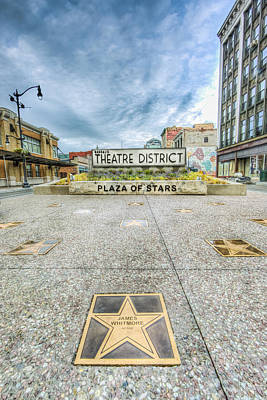 Theatre District Art Print by John Lattanzio