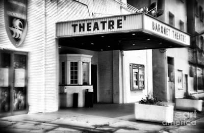 Photograph - Theatre by John Rizzuto