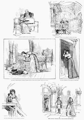 Tosca Painting - Theatre La Tosca, 1887 by Granger