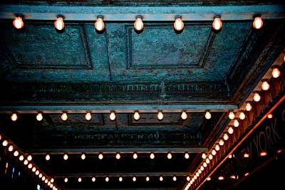 Photograph - Theatre Lights by Eric Tressler