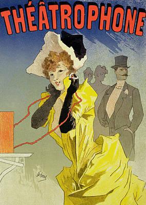Theatrophone Poster Art Print