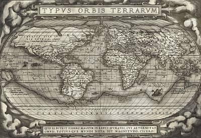 Theatrum Orbis Terrarum  Art Print by Dan Sproul