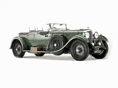 Motorcar Drawing - Theclassic Car 13 by Kenny Bundy