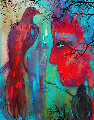 Meditative Digital Art - Their Safe Place by Patricia Motley
