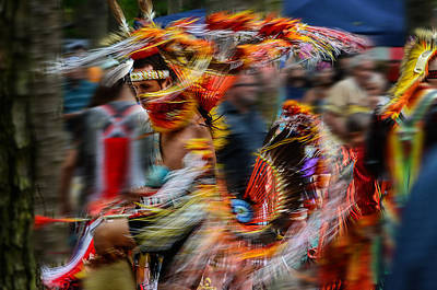 Their Spirit Is Among Us - Nanticoke Powwow Delaware Art Print