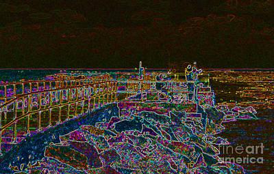 Digital Art - Thejetty  by Art Mantia