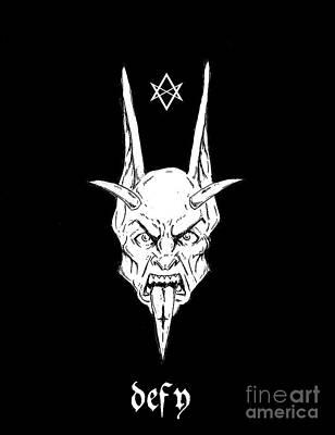 Thelemic Devil Art Print by Alaric Barca