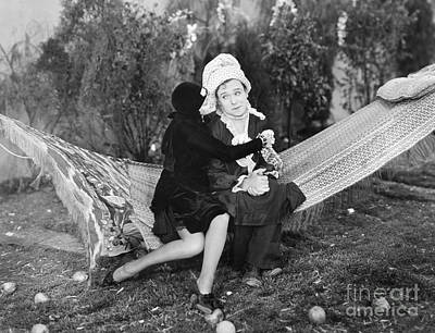 Photograph - Thelma Todd And Harry Langdon by Granger