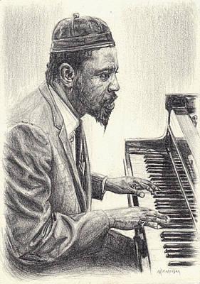 Thelonious Monk II Art Print