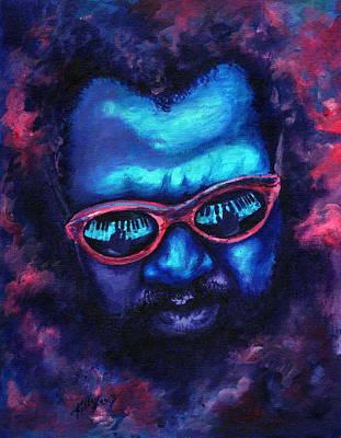 Painting - Thelonious Monk by Kathleen Kelly Thompson