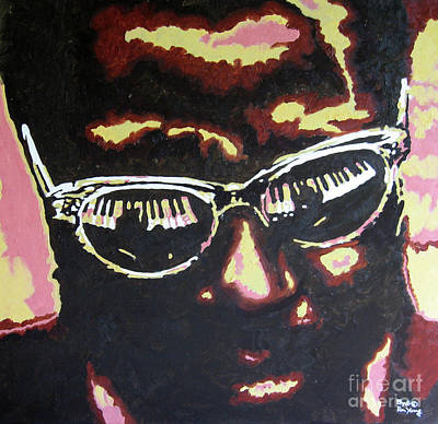 Thelonius Monk Art Print by Ronald Young