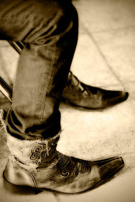 Photograph - 'dem Boots by Melinda Ledsome