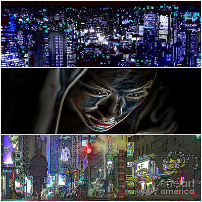 Citylife Digital Art - Them You Us   B by Ha Imako