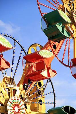 Theme Park Ride Art Print