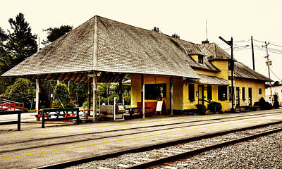 Photograph - Thendara Train Station IIi by David Patterson