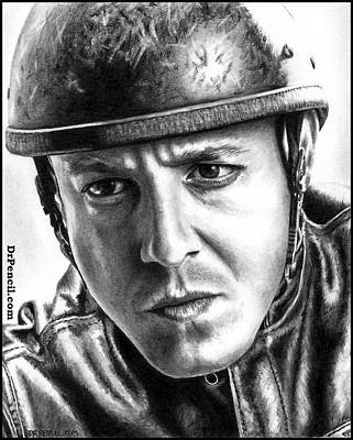 Sons Of Anarchy Drawing - Theo Rossi As Juice by Rick Fortson