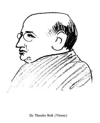 Theodor Reik (1888-1969) Art Print by Granger