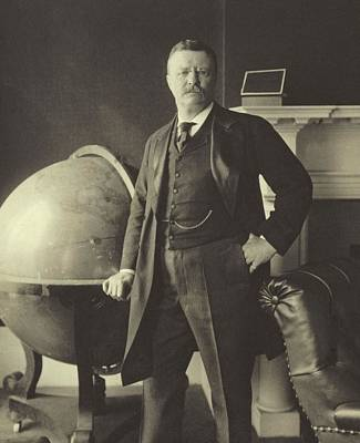 Theodore Photograph - Theodore Roosevelt  by Anonymous