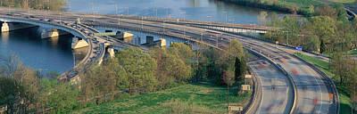 Roosevelt Bridge Photograph - Theodore Roosevelt Bridge, Washington by Panoramic Images
