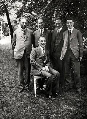 Physicist Photograph - Theoretical Physicists by American Philosophical Society