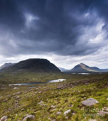 Torridon Wall Art - Photograph - There Can Be Only One by Maciej Markiewicz