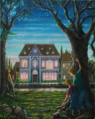 Painting - There Is A House In New Orleans by Matt Konar