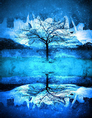 Winter Fun Digital Art - There Is A Part Of Me That Will Always Be Frozen by Tara Turner