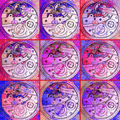 There Is Never Enough Time 20130606magenta Art Print by Wingsdomain Art and Photography