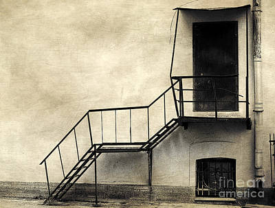 Photograph - There Was A Crooked House by Elena Nosyreva