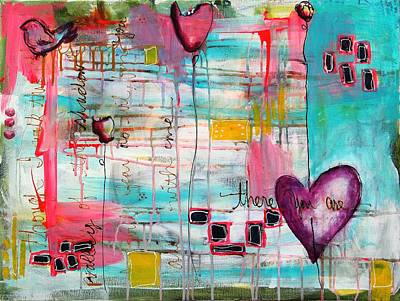 Mixed Media - There You are by Carrie Todd